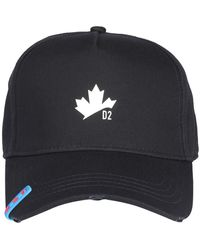DSquared² D2 Leaf Baseball Cap - Black