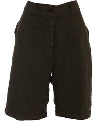 Aspesi High-rise Longline Shorts - Green