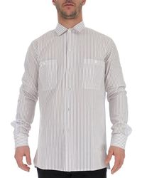 Golden Goose Deluxe Brand - Striped Shirt - Lyst