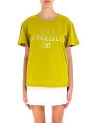Alberta Ferretti - Rainbow Week T-shirt - Lyst