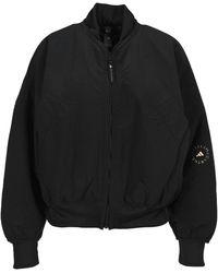 adidas By Stella McCartney Woven Bomber Jacket - Black