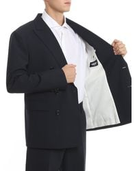 DSquared² Double Breasted Two-piece Suit - Blue