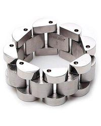 Ambush Linked Ring - Metallic
