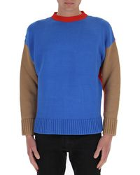 Opening Ceremony - Logo Colour Block Knit Jumper - Lyst