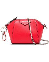 Givenchy Antigona Baby Crossbody Bag - Red