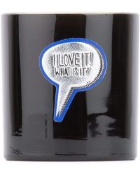 Anya Hindmarch Large Baby Powder Scented Candle - Black