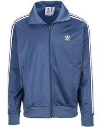 adidas Originals Adicolor Firebird Zipped Sweatshirt - Blue