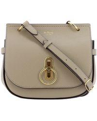 Mulberry Amberley Satchel Bag - Grey