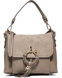 See By Chloé Joan Small Crossbody Bag - Grey