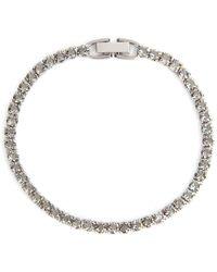 Swarovski Tennis Deluxe Bracelet - Metallic
