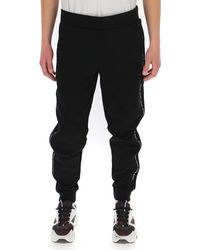 Moncler Side Stripe Track Pants - Black