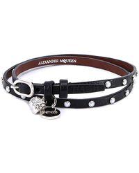 Alexander McQueen - Skull Studded Bracelet - Lyst