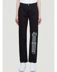 Aries Column Lilly Jeans - Black
