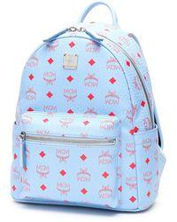 MCM Stark Backpack - Blue