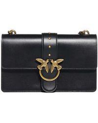 Pinko Love Classic Icon Simply Crossbody Bag - Black