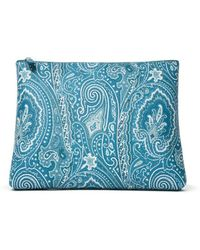 Etro Paisley Ipad Case - Blue