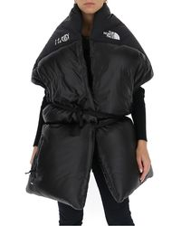 MM6 by Maison Martin Margiela X North Face Nuptse Padded Down Scarf - Black