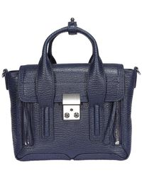 3.1 Phillip Lim Mini Pashli Tote Bag - Blue