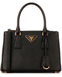 Prada - Galleria Saffiano Mini Tote Bag - Lyst