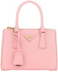 Prada Mini Galleria Tote Bag - Pink