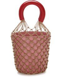STAUD Moreau Bucket Tote Bag - Pink