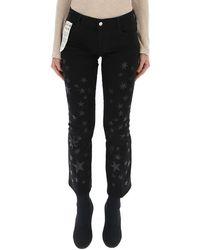 Stella McCartney Star Print Jeans - Black