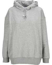 Nike Swoosh Logo Hoodie - Grey