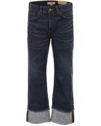 Burberry - Loose-fit Denim Jeans - Lyst