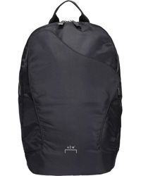A_COLD_WALL* * Curve Flap Backpack - Black