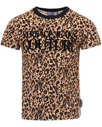 Versace Jeans Couture Animal Print T-shirt - Multicolour
