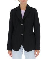 Uma Wang Single-breasted Blazer - Black