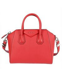 Givenchy Antigona Small Tote Bag - Red