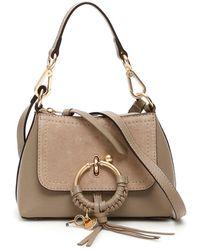 See By Chloé Mini Joan Cross-body Bag - Gray