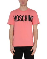 Moschino Other Materials T-shirt - Pink