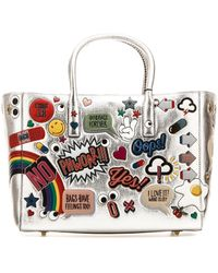 Anya Hindmarch All Over Embroidered Stickers Shopping Bag - Multicolor