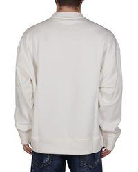Jil Sander + Logo Printed Sweatshirt - Natural