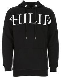 Philipp Plein Logo Print Hoody - Black