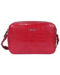 Liu Jo Logo Crossbody Bag - Red