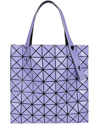 Bao Bao Issey Miyake Prism Gloss Tote Bag - Purple