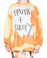 Marques'Almeida 'truth + Beauty' Sweatshirt - Multicolor