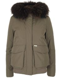 Woolrich - Military Bomber Jacket - Lyst