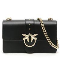 Pinko Love Crossbody Bag - Black