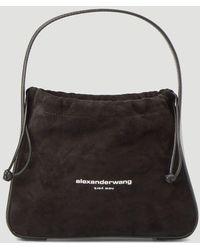 Alexander Wang Ryan Drawstring Tote Bag - Black