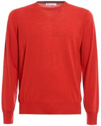 Brunello Cucinelli - Knitted Wool And Cashmere Crewneck - Lyst