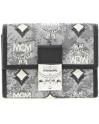 MCM Mini Trifold Wallet - Multicolour