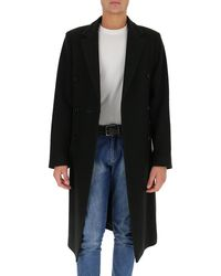 Ann Demeulemeester Double-breasted Coat - Green