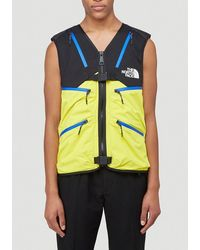 THE NORTH FACE BLACK SERIES The North Face 3l Waterproof Vest - Yellow