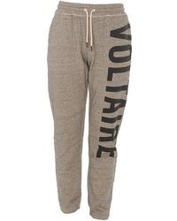 Zadig & Voltaire Side Logo Track Trousers - Brown