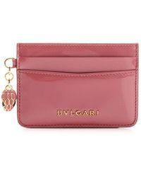 BVLGARI Serpenti Forever Cardholder - Pink