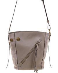 Chloé Myer Small Shoulder Bag - Gray